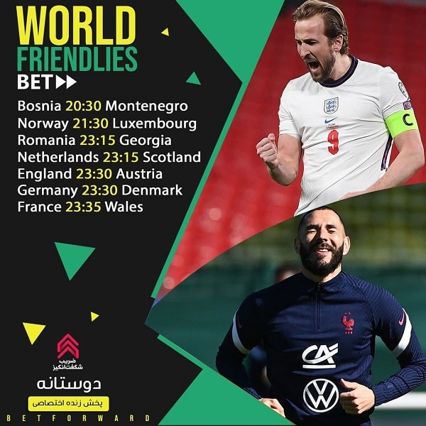 پیش بینی فوتبال لیگ های خارجی جهان